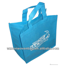2017 cheap promotional handles 80g non woven carry bag recyclable