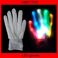 LED light dance glove Christmas gloves