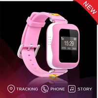 Manufacturer wholesale 2016 latest cheapest waterproof 3G mini MP3 wrist watch gps tracking device for kids