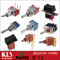 Good quality different types of toggle switches UL VDE CSA CE ROHS 20 KLS Brand