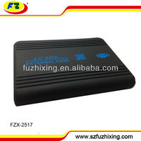 For Laptop HDD USB2.0 to 2.5inch SATA External Hard Drive Enclosure with Rubber oil surface