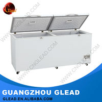 2016 Glead Heavy Duty stainless steel used top open chest freezer