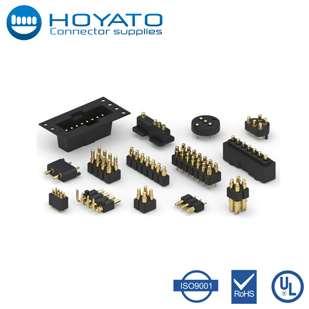 Precision Machined 100% Inspected Brass Pogo Pin, Low-Resistance Spring Pin, Magnetic Connector for Wearable Devices