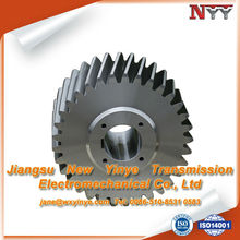 DIN 6 right hand hard tooth gear of transmission parts
