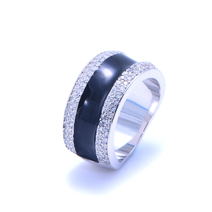 Wholesale 14K 18K Gold Custom Spinner Sterling Silver Male Ring Jewellery For Men