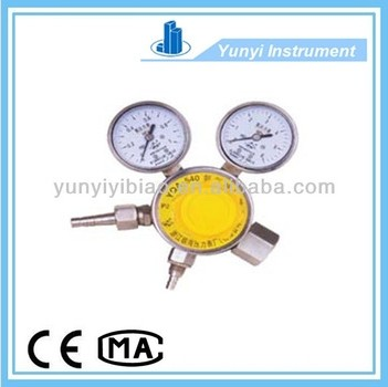 Ammonia pressure gas regulator