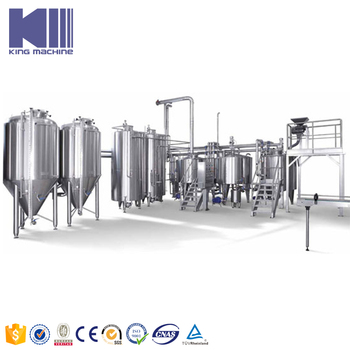 Commercial brewery equipment with capacity 100l 400l