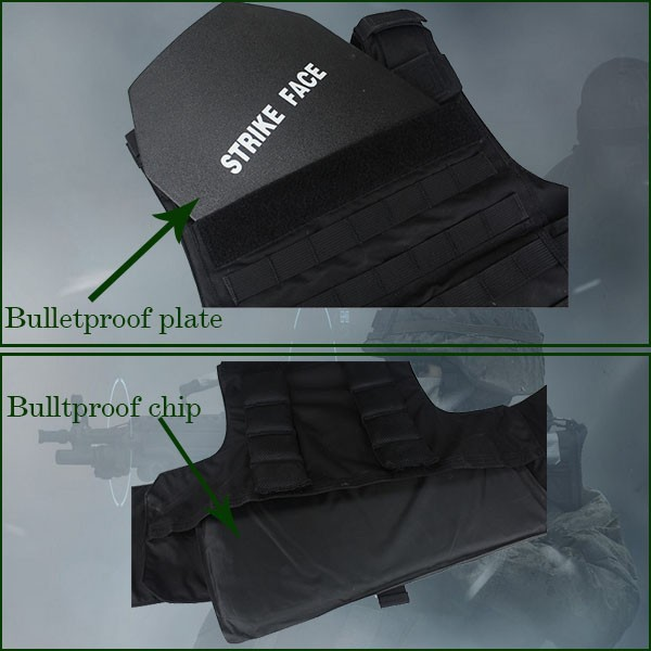Military Tactical Bulletproof Vest Level IIIA