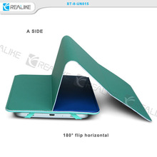 New coming products two sides universal 8 inch stand tablet leather case