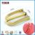Electroplated Shiny light gold custom metal pin buckle for handbag
