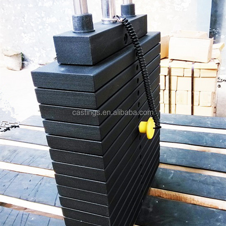 M1 class 200kg test weight, weighbridge forklift weight, cast iron counter weigh