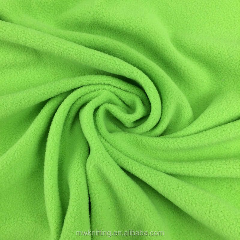 100% Polyester Custom Thick Polar Fleece Fabric with High Pile