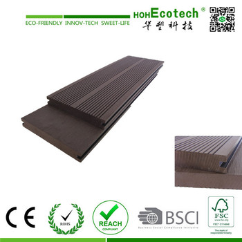 wood plastic composite deck board wpc decking for balcony and garden