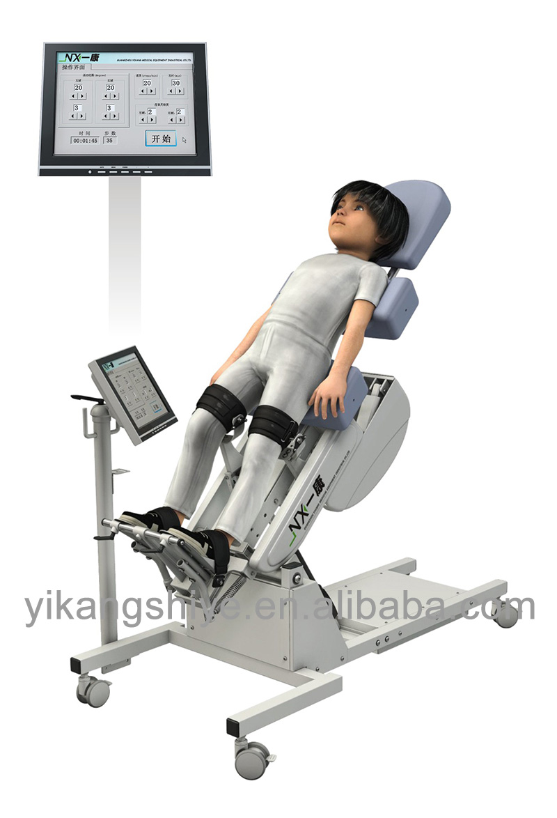 Medical new inventions 2014 lower limbs gait training equipment for kids use
