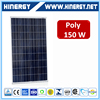 Brilliant quality cheapest price 150w poly solar panel for off grid system