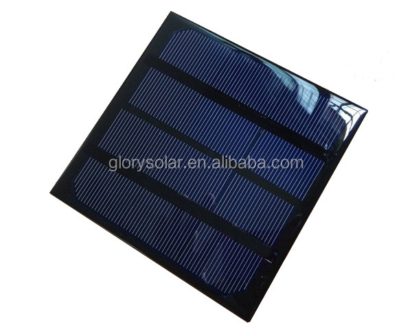 China Factory Customized 3W 6V Solar Panel Small Solar Panel For Led Light,Power Supply, Phone,Battery,Fountain