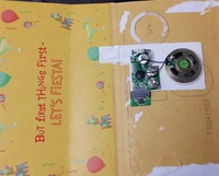 Programmable musical chips, sound chips for greeting card