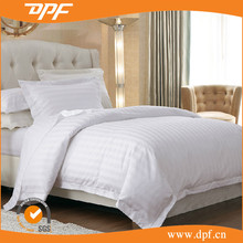 Factory cheap price white hotel bed linen