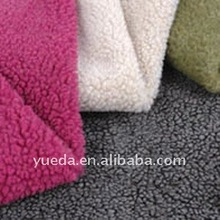 Stone-Color Sherpa Fabric