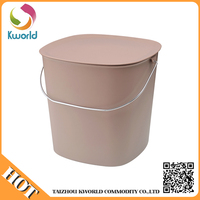 wholesale customized good quality plastic picnic basket plastic storage basket with handle