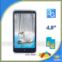 2013 Hot 3G android dual sim dual core 4.5 inch Mobile Phone MTK 6572