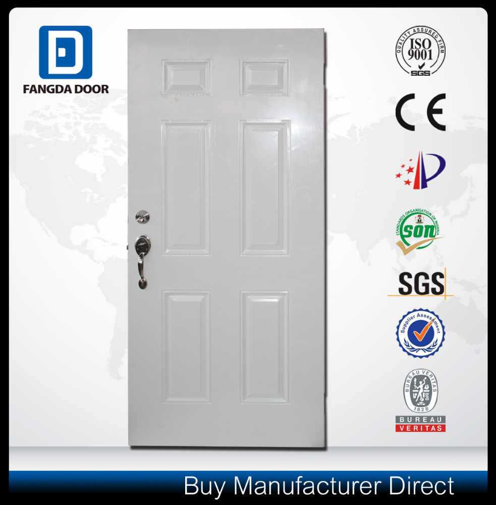Fangda most popular panel design moulded door skin