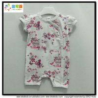 BKD Girls flowers printed baby wear China infant clothes