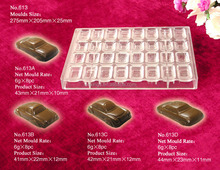 Q613 coconut chocolate sugar paste mould