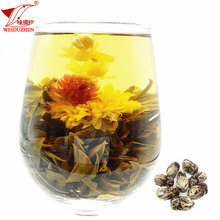 Bulk Refined Chinese Blooming And Loose Leaf Dried Tea Healthy Flowering Tea Ball For Sale