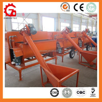 Fully automatic foam concrete machine with pump