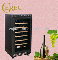 28-bottle mini refrigerated wine cellar for red wine