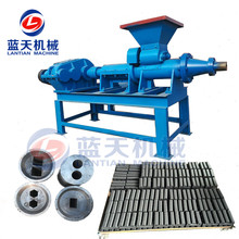 Fine coal charcoal powder rod briquetting machine charcoal coal rod making machine