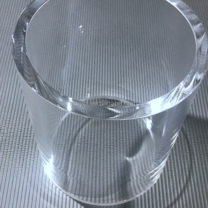 Hot Sale Direct Deal Polished Large Diameter Quartz Glass Tube