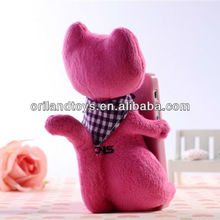 Charming Lovely 3D Cartoon cat Plush Doll Case Cover