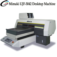 Mini A3 Size Flatbed Machine Brand New Printer Mimaki UJF 3042 Printers