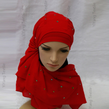 Wholesale Modern Islamic Clothing Stylish Arabic Girl Hijab