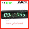 alibaba express hot sale 6 digit digital wall clock timer