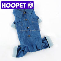 Jeans designer dog clothes factory dog clothing
