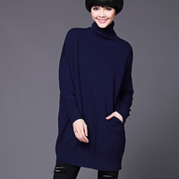 High quality christmas pullover sweater hand knitted big button cardigan sweater for ladies