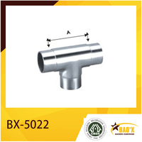 High Quality Stainless Steel T Connector Pipe