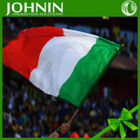 2016 europe football game fans use factory directly sales italy hand flag