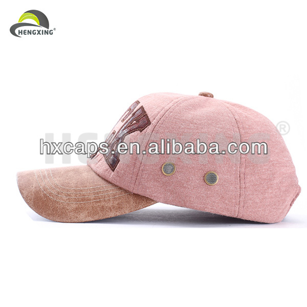 Military Style Leather Baseball Cap Hard Hat
