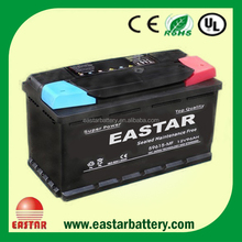 MF Auto power supply 12v battery 12v 100ah car battery with charger