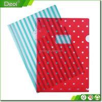2016 Custom Pp Pvc Clear Plastic A4 File And Folder