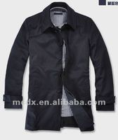 latest fashion design jacket for men trench coat