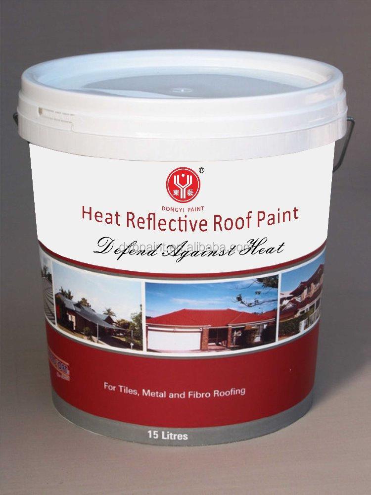 Heat Reflective Roof Paint Buy Heat Resistant Paint Roof Paint Reflective Roof Paint Product