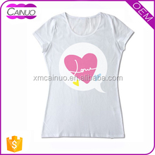 Women Low fitted T-Shirts Printing Wholesale Customized