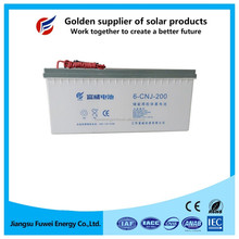 Good consistency low self-discharge deep cycle sealed battery solar 12v 400ah