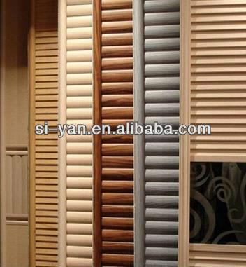 triple persiennes 3 track coulissante portes de placard garde robe id de produit 1010760671. Black Bedroom Furniture Sets. Home Design Ideas