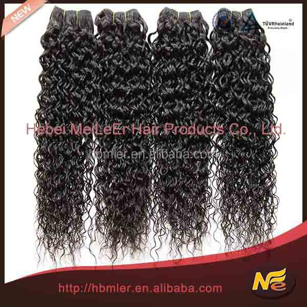 Wholesale new arrival raw tangle free natural black unprocessed 100% virgin brazilian human hair
